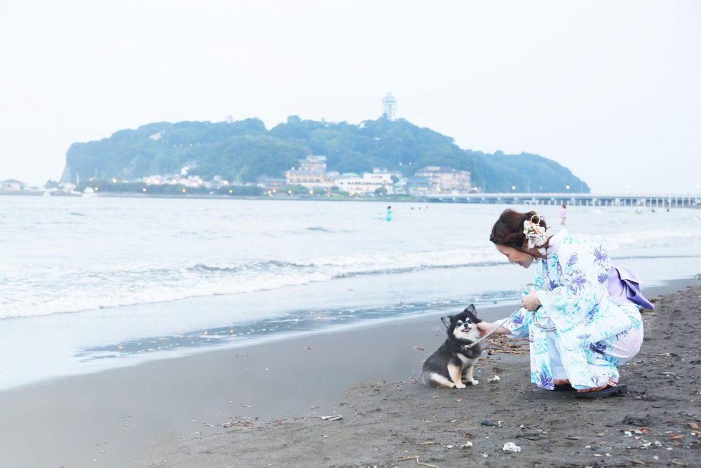 フォトメリー湘南の女性カメラマンさんと撮影